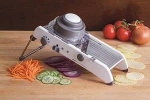 Slice, julienne or waffle cut your veggies