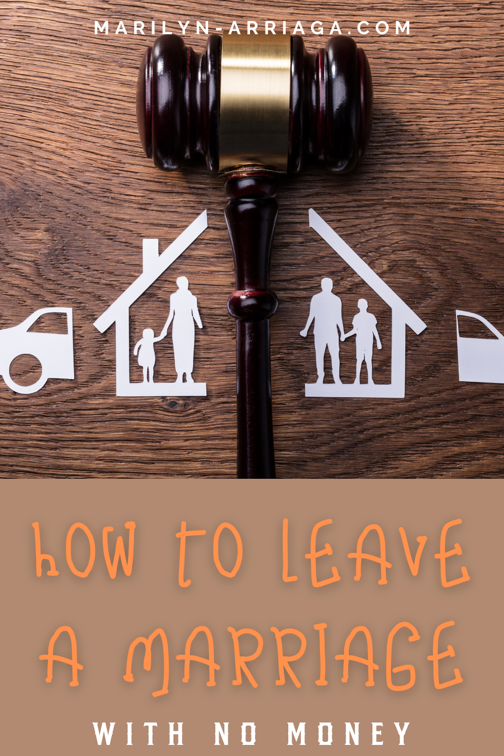 how to leave the marriage with no money