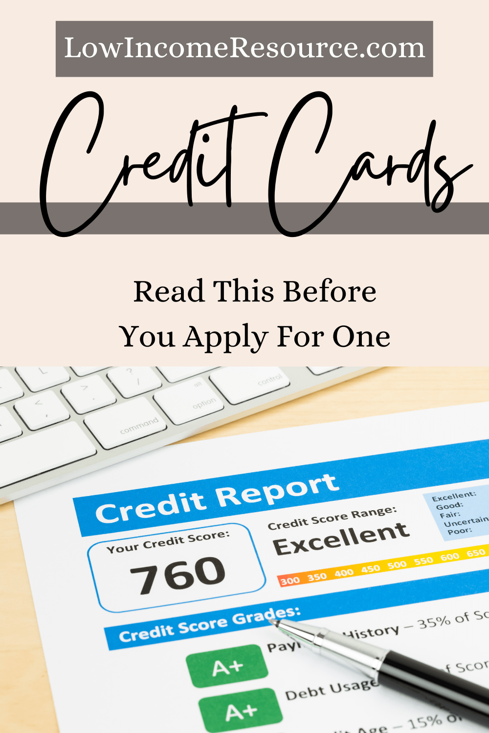 applying for credit cards