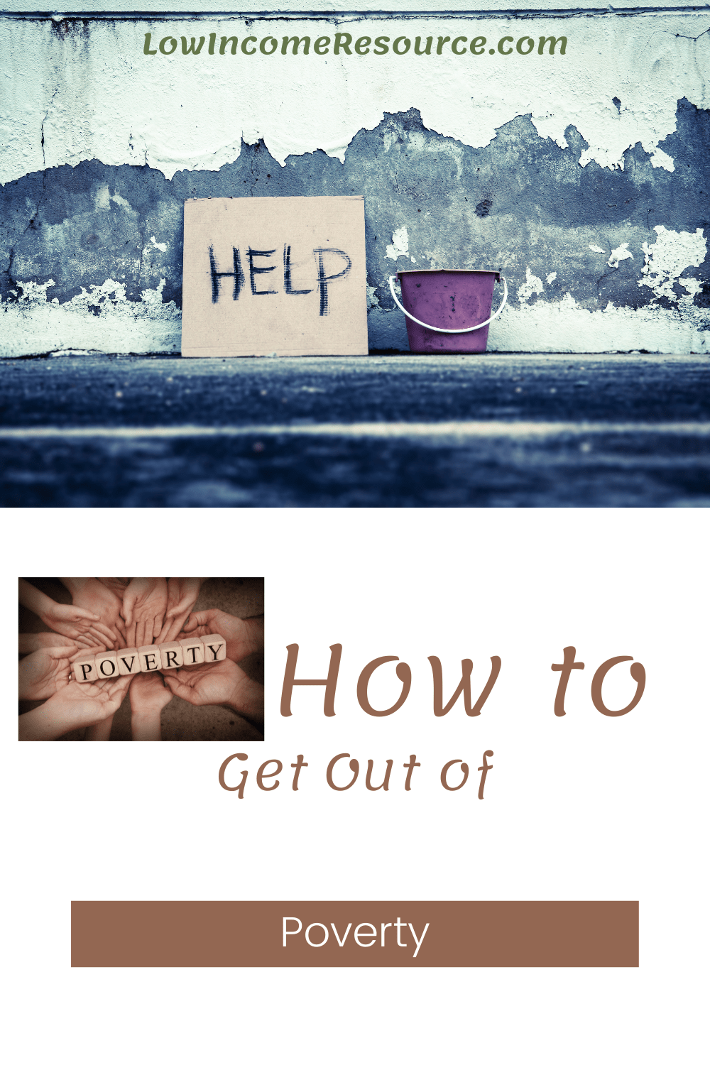 how to get out of poverty